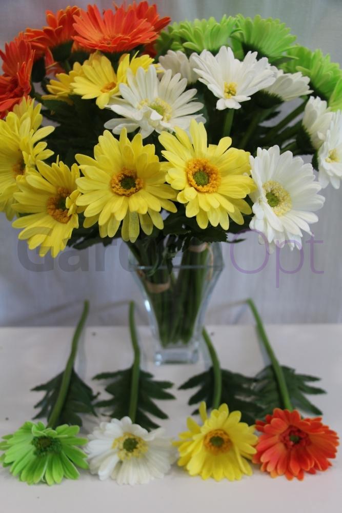 Цветы из силикона оптом